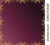 decorative seamless pattern.... | Shutterstock .eps vector #1080192668