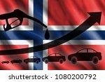 fuel pistol  automobile...   Shutterstock . vector #1080200792