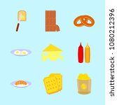 icons about food with bitter ... | Shutterstock .eps vector #1080212396
