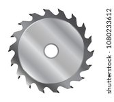 saw blade for circular saw.... | Shutterstock .eps vector #1080233612