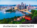 pittsburgh pennsylvania usa....   Shutterstock . vector #1080256292