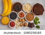 healthy food nutrition dieting... | Shutterstock . vector #1080258185