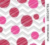 polka dot seamless pattern.... | Shutterstock .eps vector #1080269786