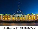Parliament House Illuminated A...