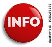 info   information red round... | Shutterstock . vector #1080298136
