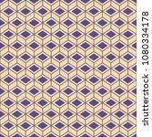 seamless isometric vector... | Shutterstock .eps vector #1080334178