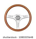 Wooden Vintage Sport Steering...