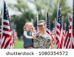 American Soldier Father In...