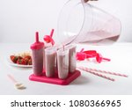 summer food  cooking home made... | Shutterstock . vector #1080366965
