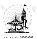 amusement park | Shutterstock .eps vector #108036902