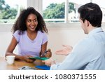 latin american young adult...   Shutterstock . vector #1080371555
