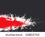 abstract red and gray design... | Shutterstock .eps vector #10803742