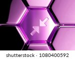 metallic magenta compress image ...