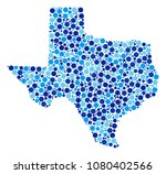 texas map composition of round... | Shutterstock . vector #1080402566