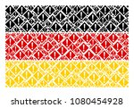 german flag concept organized...