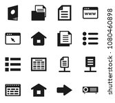 flat vector icon set   schedule ...