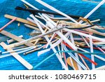 beach cleaning. cleaning dirty... | Shutterstock . vector #1080469715