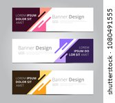 vector abstract design banner... | Shutterstock .eps vector #1080491555