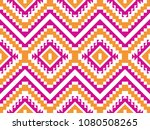 tribal seamless colorful... | Shutterstock .eps vector #1080508265