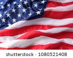 american flag background... | Shutterstock . vector #1080521408