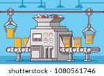 medical industrial factory... | Shutterstock .eps vector #1080561746