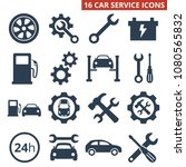 car service and repair icons... | Shutterstock .eps vector #1080565832