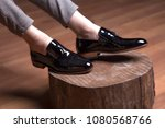 man shoes  classic man shoes at ... | Shutterstock . vector #1080568766