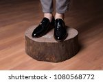 man shoes  classic man shoes at ... | Shutterstock . vector #1080568772