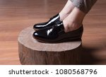 man shoes  classic man shoes at ... | Shutterstock . vector #1080568796