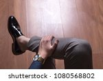 man shoes  classic man shoes at ... | Shutterstock . vector #1080568802