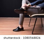 man shoes  classic man shoes at ... | Shutterstock . vector #1080568826