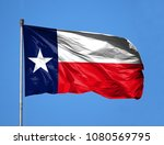 national flag state of texas on ...   Shutterstock . vector #1080569795