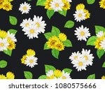 Seamless  Pattern With White...