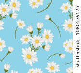 seamless  pattern with white... | Shutterstock .eps vector #1080576125