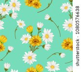 seamless  pattern with white... | Shutterstock .eps vector #1080576638