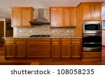 Stock photo kitchen interior 108058235
