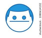emoji with emotionless poker...
