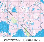 abstract geographical map.... | Shutterstock . vector #1080614612
