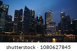 singapore   apr 3rd 2015  city... | Shutterstock . vector #1080627845