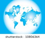 vector of the world | Shutterstock .eps vector #10806364