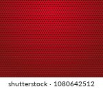 abstract red perforated metal... | Shutterstock .eps vector #1080642512