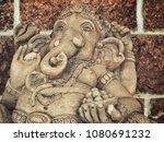 beautiful of ganesh   Shutterstock . vector #1080691232