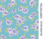 abstract flower pattern. i... | Shutterstock .eps vector #1080700766