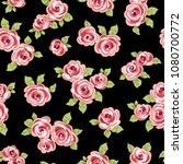 abstract flower pattern. i... | Shutterstock .eps vector #1080700772
