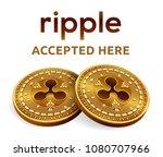ripple. accepted sign emblem....   Shutterstock .eps vector #1080707966