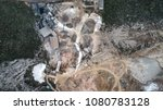 aerial view of crushed stone...   Shutterstock . vector #1080783128
