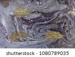 marble abstract acrylic... | Shutterstock . vector #1080789035