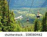 Gondola In The Rocky Mountains  ...