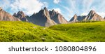 hight tatra mountain summer... | Shutterstock . vector #1080804896