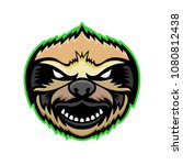 mascot icon illustration of... | Shutterstock . vector #1080812438